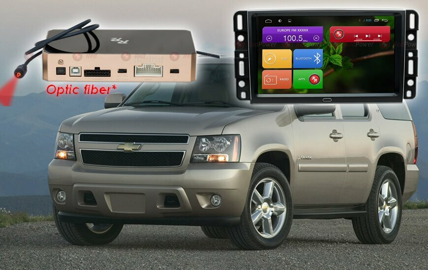 Автомагнитола для Chevrolet Tahoe Redpower 31021 IPS фото 1 — MIXUZ.RU