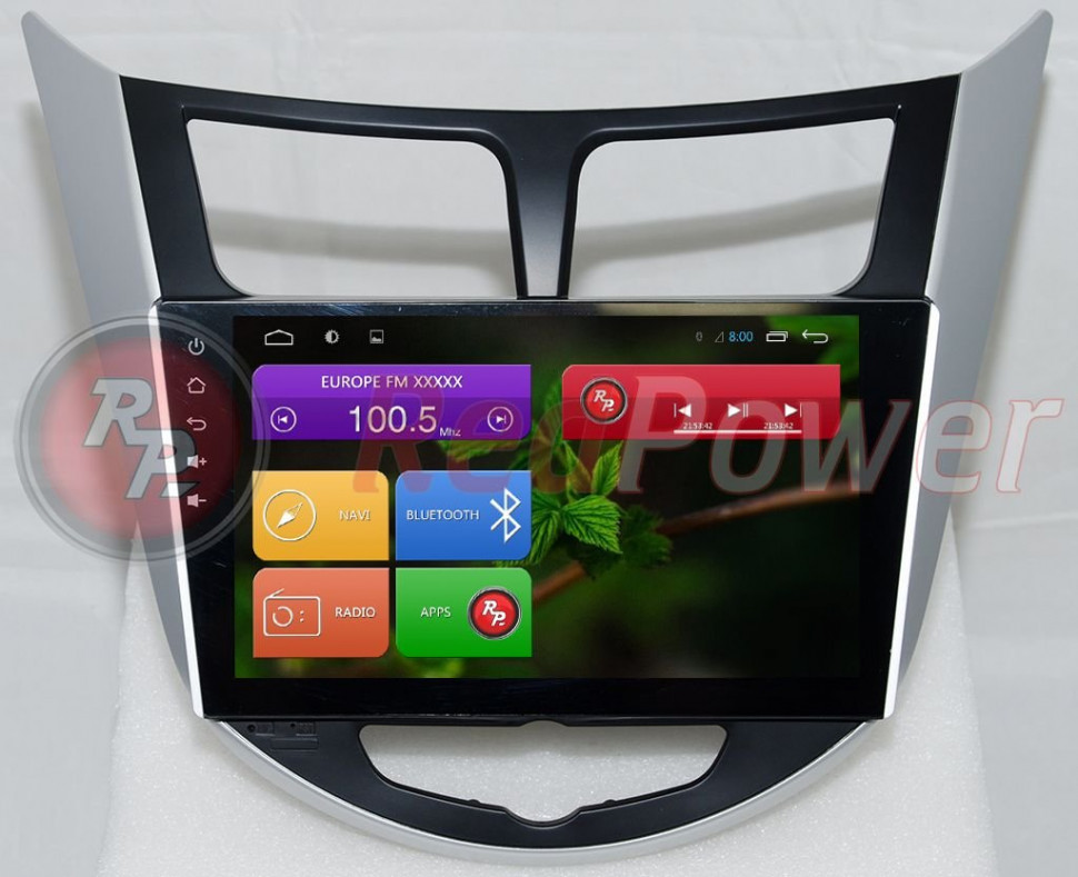 Redpower 21067B Carpad 4 для Hyundai Solaris на Android 4.4 фото 1 — MIXUZ.RU